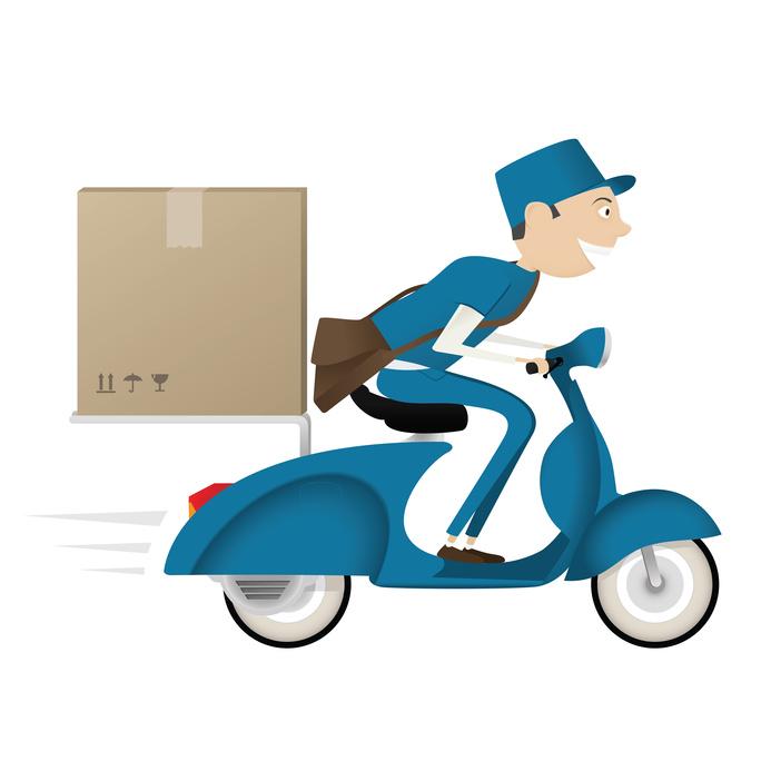 Comprovação de entregas