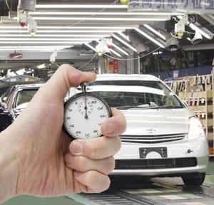 Sistema just in time da Toyota.