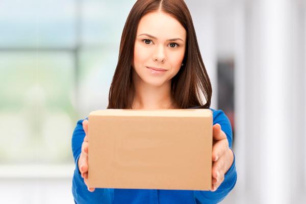 Cliente solicitando coleta de produtos