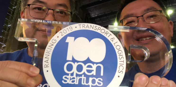 Dobradinha da Comprovei na 100 Open Startups