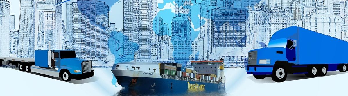 representação de veículos e logística de entrega last-mile
