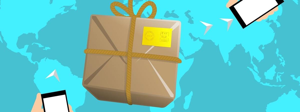 logística produtos distribuição