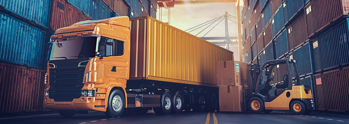 logística com gestão de entregas