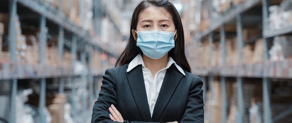 logística na pandemia